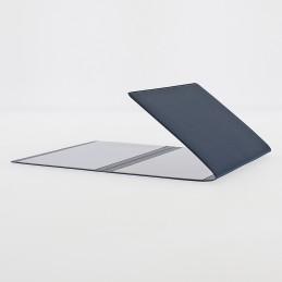 Etui Premium luxe carte grise (133x264 mm) bleu marine