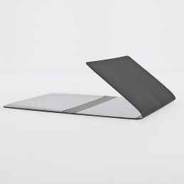 Etui Premium luxe carte grise (133x264 mm) noir