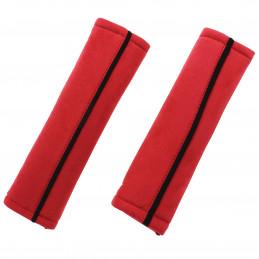 Fourreaux de protection de ceinture rouge