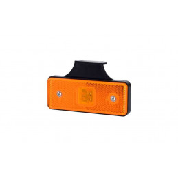 Feu de gabarit orange LED 12/24V remorque camion caravane
