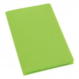 Etui PVC gomme pour carte grise (133x264 mm) anis