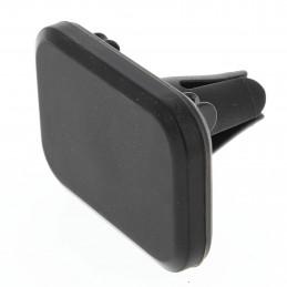 Support téléphone rectangulaire magnétique/aimanté pour grille de ventilation
