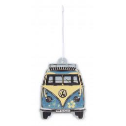 Désodorisant VW T1 BUS Combi pina colada/turquoise