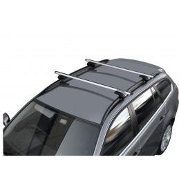 Barre de toit alu DOZER gris pour rail haut