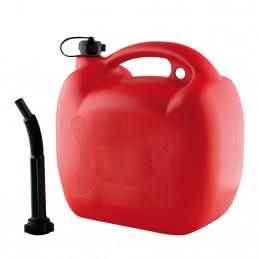 Bidon à carburant en plastic homologué EU 20L + bec verseur