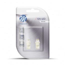 2 ampoules blanc T10 W5W 1 LED 12V 0.29W