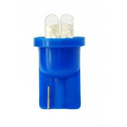 10 ampoules bleu T10 W5W 4xLED 3mm 12V 0.96W