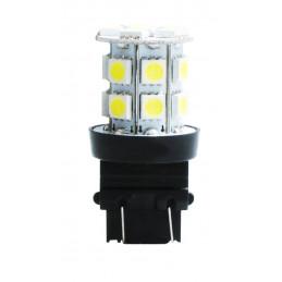 10 Ampoules LED 20 xSMD5050 P27/7 3157 12V 4,8W