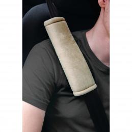 Fourreaux de protection de ceinture beige