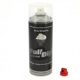 Peinture élastomère en spray Full dip 400ml - Finition transparent mate