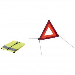 Kit 1 triangle + 1 gilet de...