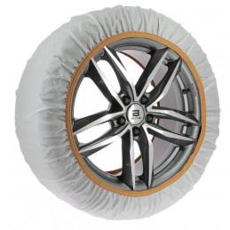 Chaussettes neige textile CAR2TOP 215 80 R14