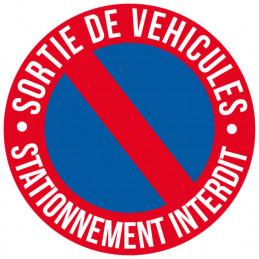 Adhésif Sortie de véhicules...