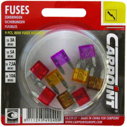 Blister 9 mini fusibles...