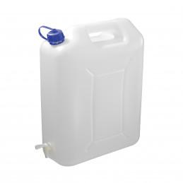 Bidon jerrican pour l'eau 20L avec robinet
