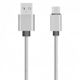 Cable nylon USB-C 100cm