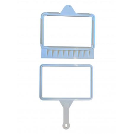 Clip pelle ragone blanc