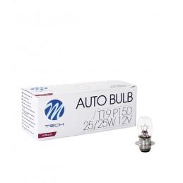 10 Ampoules T19 12V25/25W...