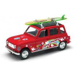 Voiture miniature 4L surf...