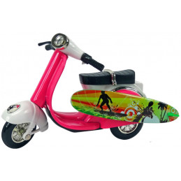 Scooter miniature surf rose...