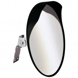 Miroir convexe de sécurité orientable Ø 40cm
