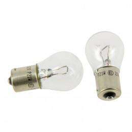 MICHELIN 2 Ampoules pour veilleuse et feu stop Poirettes P21W