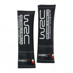 WRC 2 fourreaux de ceinture tissu simili-cuir brodé argent