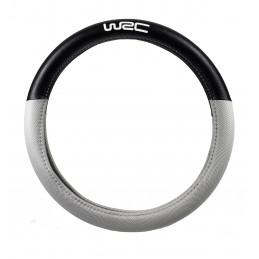 WRC couvre-volant bi-matière noir/silver UNIVERSEL