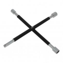 AEG clé en croix démonte-roue 3 douilles 17-19-21mm