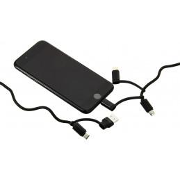 Câble innovant 5 têtes : couvre tous les besoins de connectique