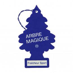 ARBRE MAGIQUE carte parfumée à suspendre au rétroviseur parfum fraîcheur sport