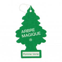 ARBRE MAGIQUE carte parfumée à suspendre au rétroviseur parfum pomme verte
