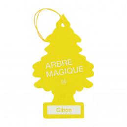 ARBRE MAGIQUE carte parfumée à suspendre au rétroviseur parfum citron