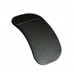 AUTO-T tapis antidérapant noir semi translucide pour téléphones tableau de bord