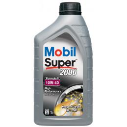 MOBIL Super 2000 Formula-P 10W40 bidon 1L huile moteur semi-synthétique