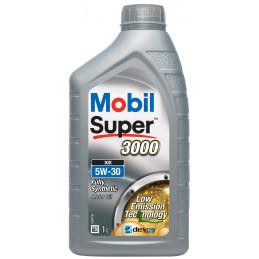 MOBIL Super 3000 XE 5W-30 bidon 1L huile moteur haute performance