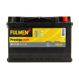 FULMEN Batterie Auto  FP21  760A 70Ah  L3 AGM Start & Stop