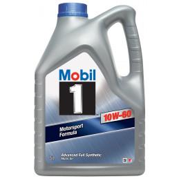 M0BIL1 10W60 Extended Life 5L aide à réduire les dépôts maintenir moteur propre