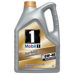 MOBIL 1 Huile moteur 0W-40 FS bidon 5L huile synthétique améliorée