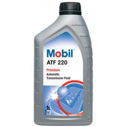 MOBIL ATF 220 bidon 1L huile transmissions automatiques/directions assistées