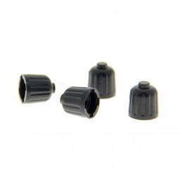 XLTECH 4 bouchons de valve format universel