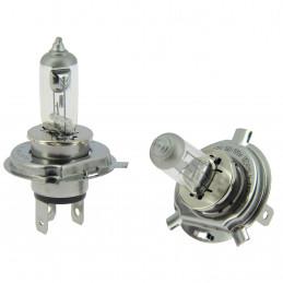XLTECH 2 ampoules longue durée LongLife H4 12V 55W 60W