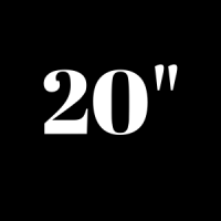 20 pouces